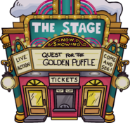 Quest for the Golden Puffle - Exterior - The Fair 2020
