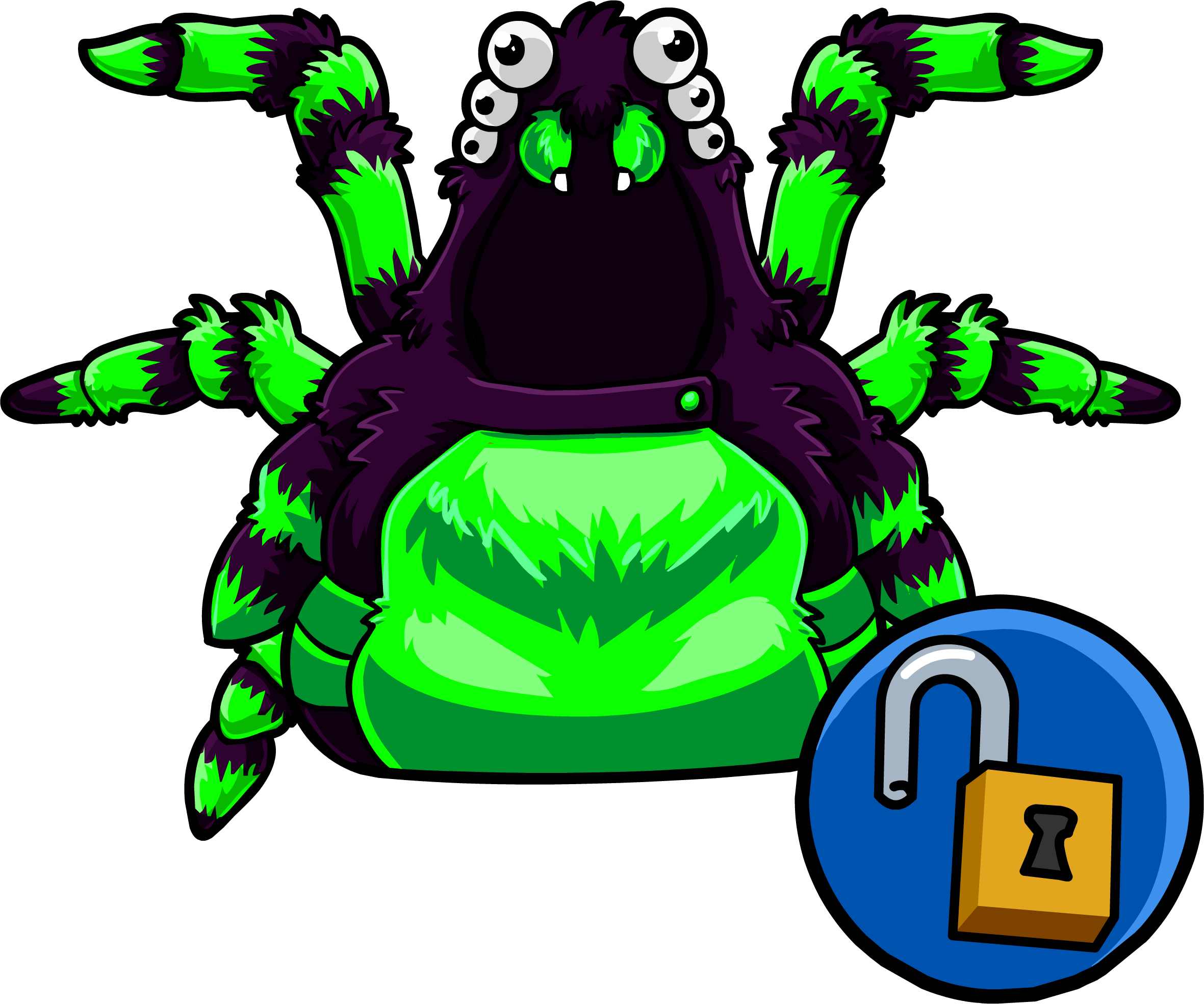 Green Spider Costume