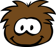 Brown Puffle Old Look