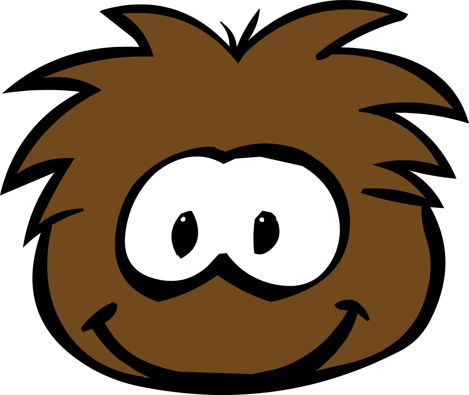 Brown Puffle