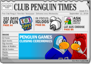 Club Penguin Times Issue 71