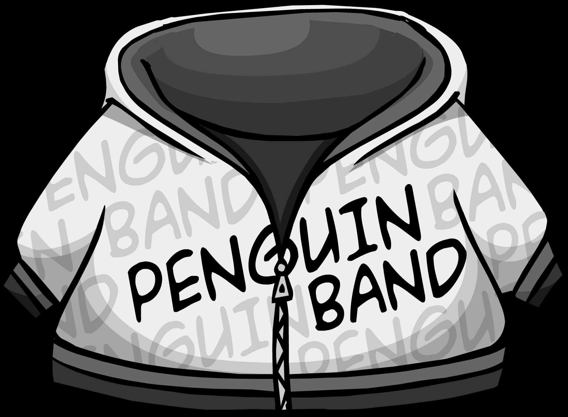 Penguin Band Hoodie