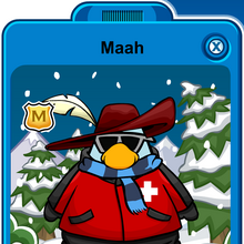 Maah Player Card - Mid January 2020 - Club Penguin Rewritten.png