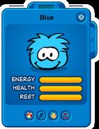 Blue Puffle Card