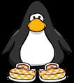 Orange Checkered Shoes PC