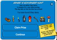 Sensei's Fire Scavenger Hunt