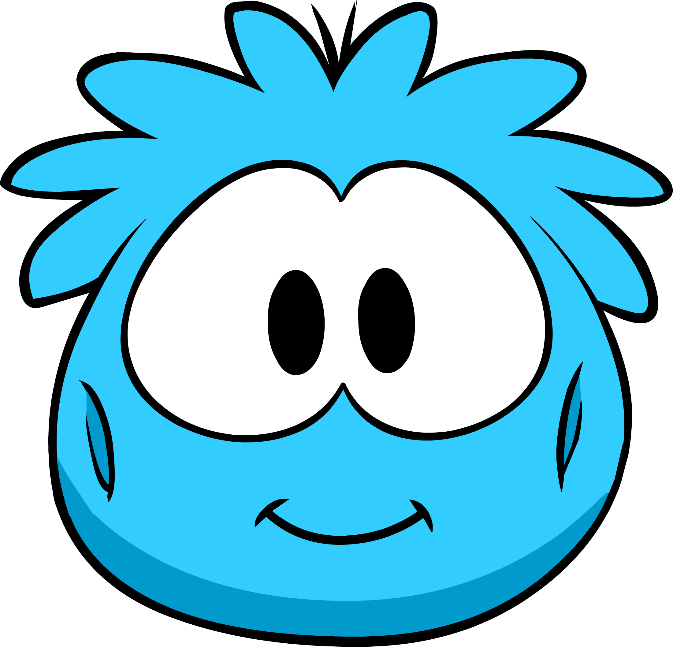 Blue Puffle Costume