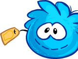 Blue Puffle Stuffie