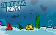 Submarine Party Login Screen