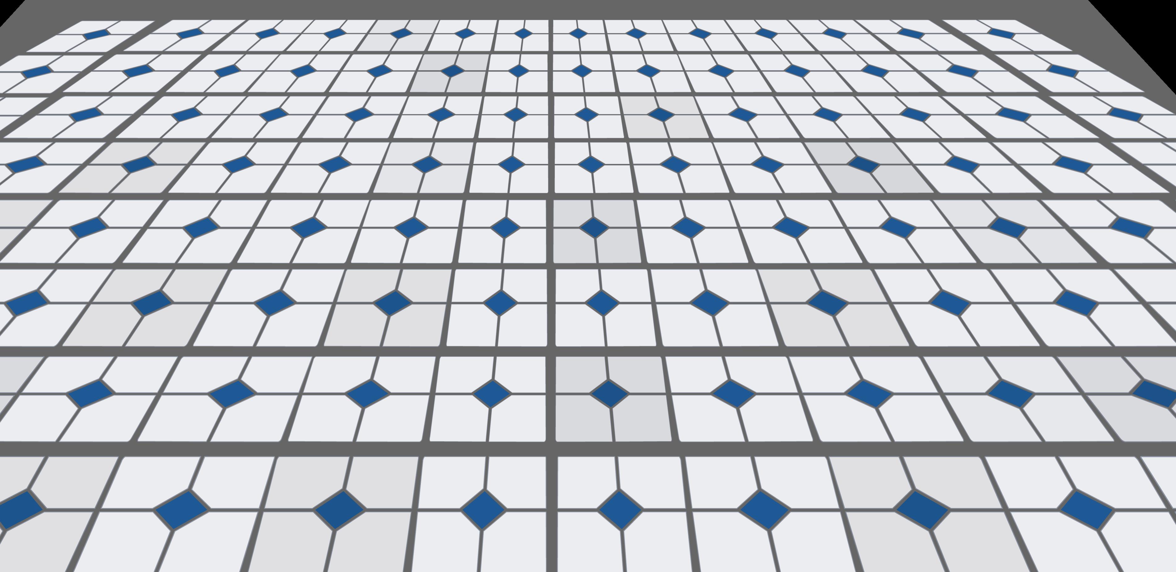 Blue Diamond Linoleum