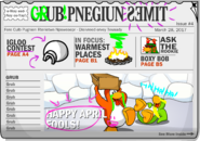 Club Penguin Times Issue 4
