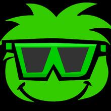 Green Puffle Sunglasses Parade.png