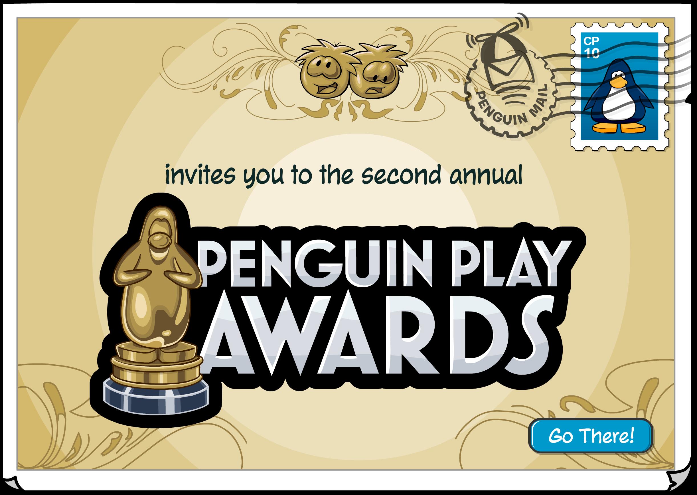Penguin Play Awards Postcard