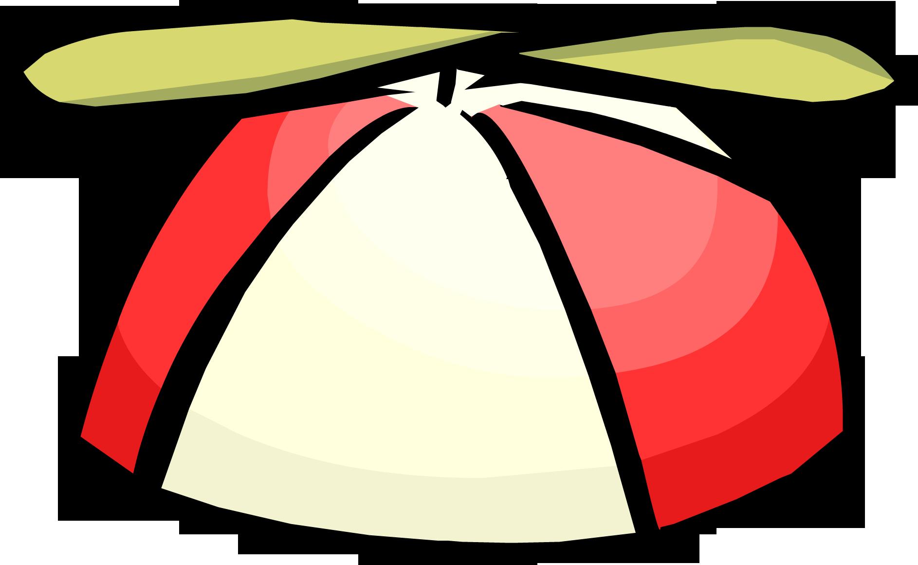 Red Propeller Cap