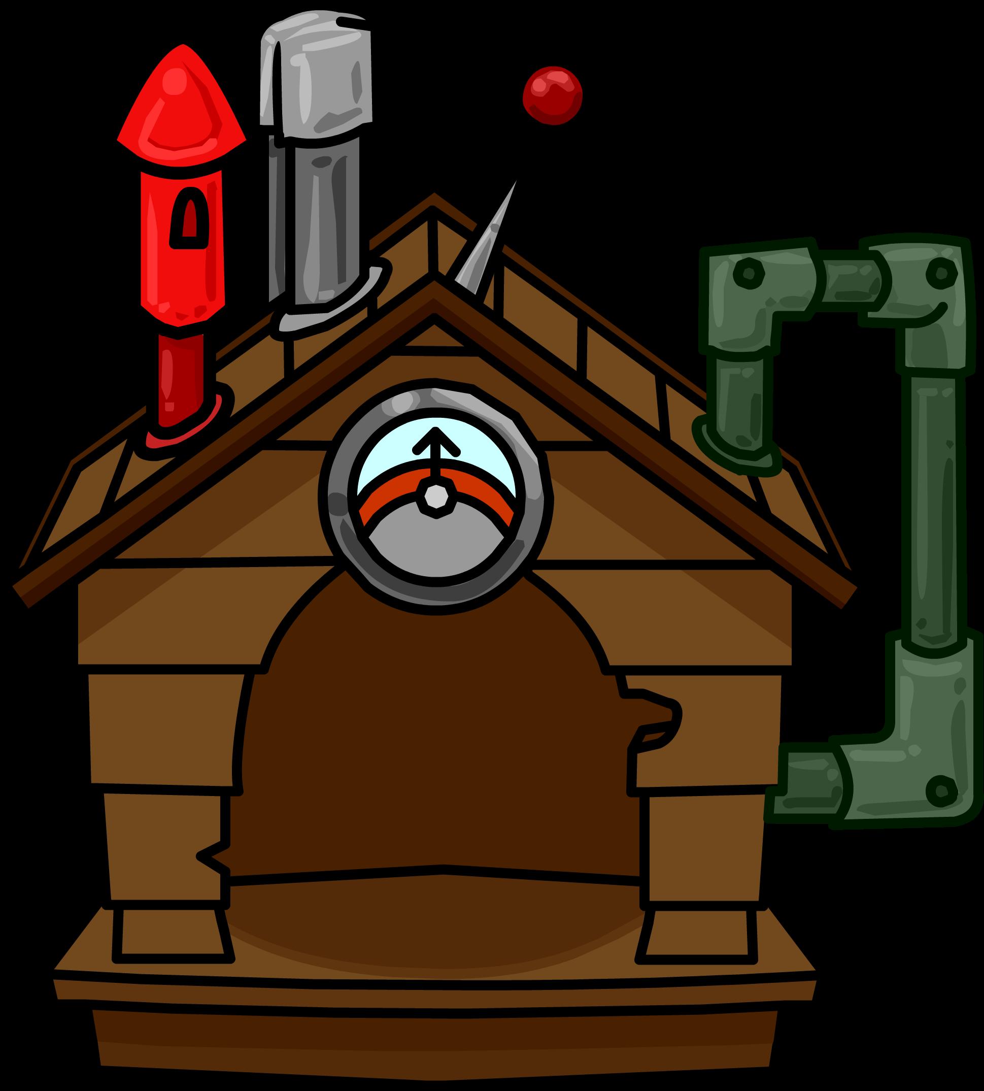 Brown Puffle House (ID 665)