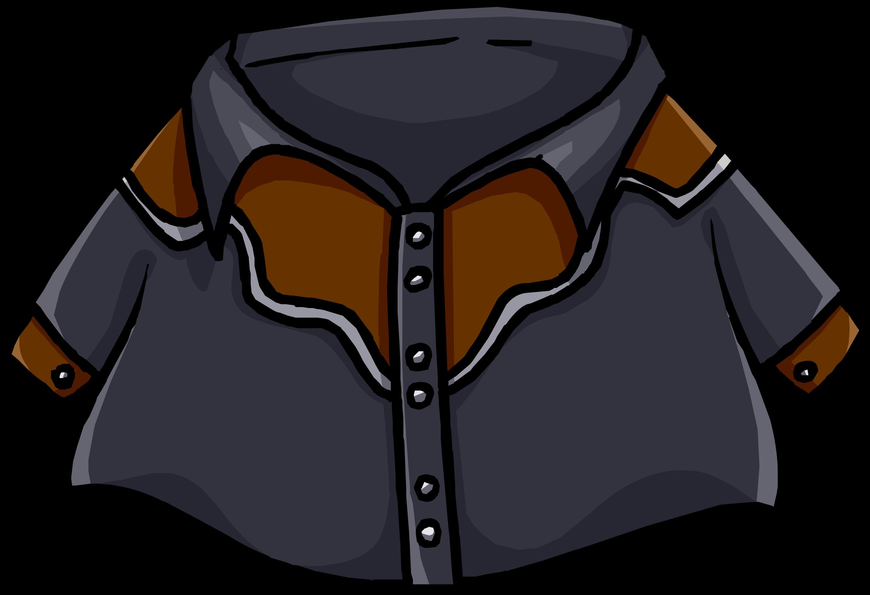 Black Cowboy Shirt