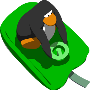 Green Racing Sled in Sled Racing.png