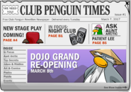 Club Penguin Times Issue 1