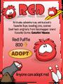 Red Puffle Adopt Catalog