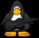 Black Acoustic Guitar PC