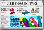 Club Penguin Times Issue 22