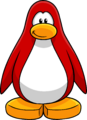 Red Create Penguin