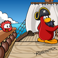 Rockhopper Waddle On Background
