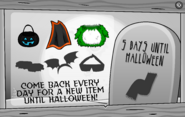 Halloween Party Interface Day 3