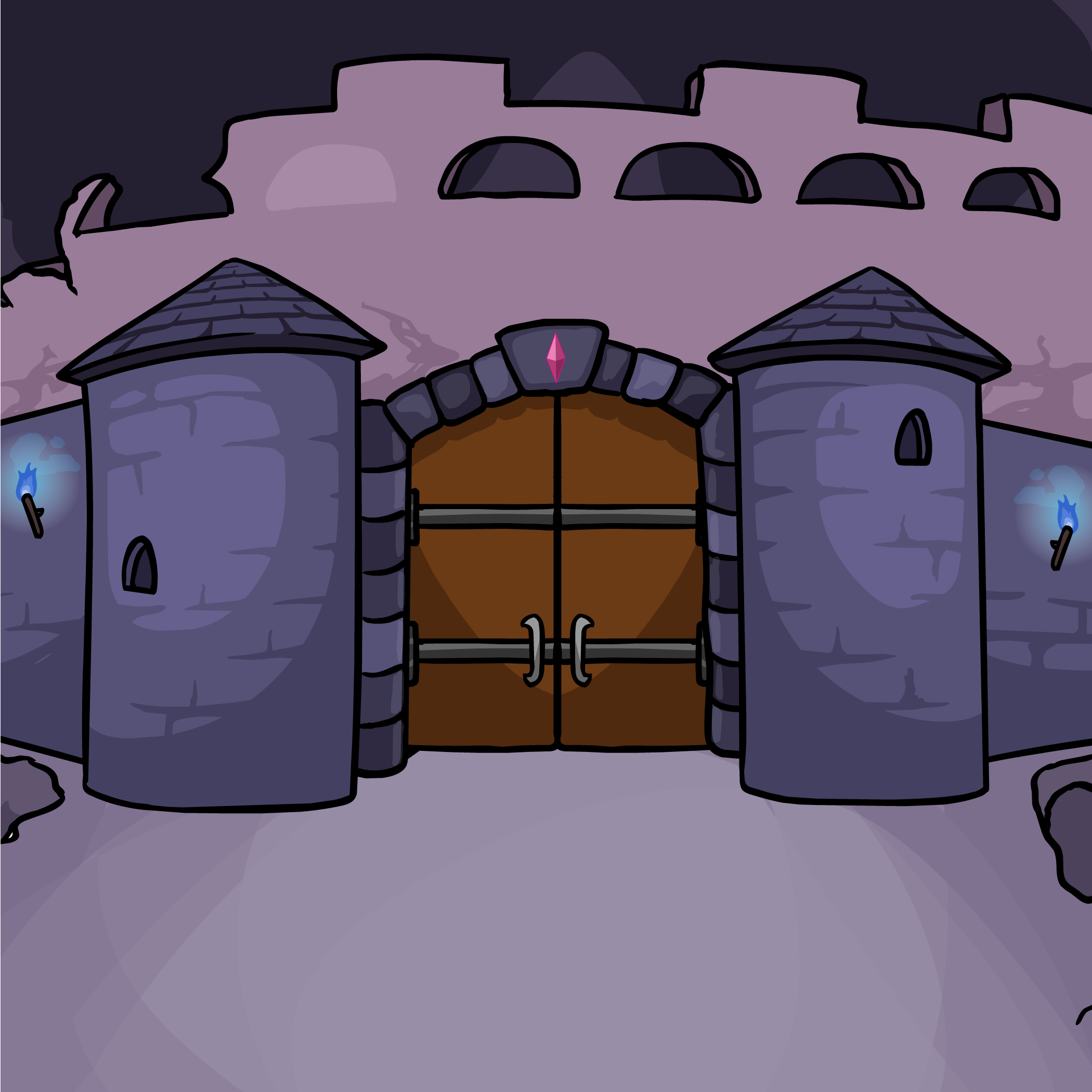Lost Castle Background