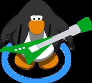 Green Electric Guitar IG