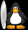 Silver Surfboard PC