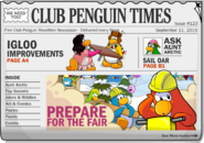 Club Penguin Times Issue 123