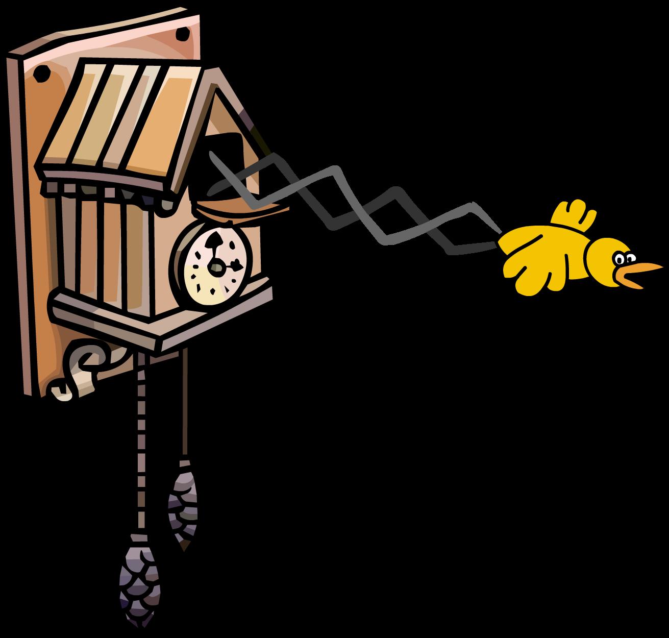 Fred the Clockwork Cuckoo