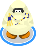 Mummy Costume Crook and Flail Special Wave
