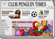 Club Penguin Times Issue 61