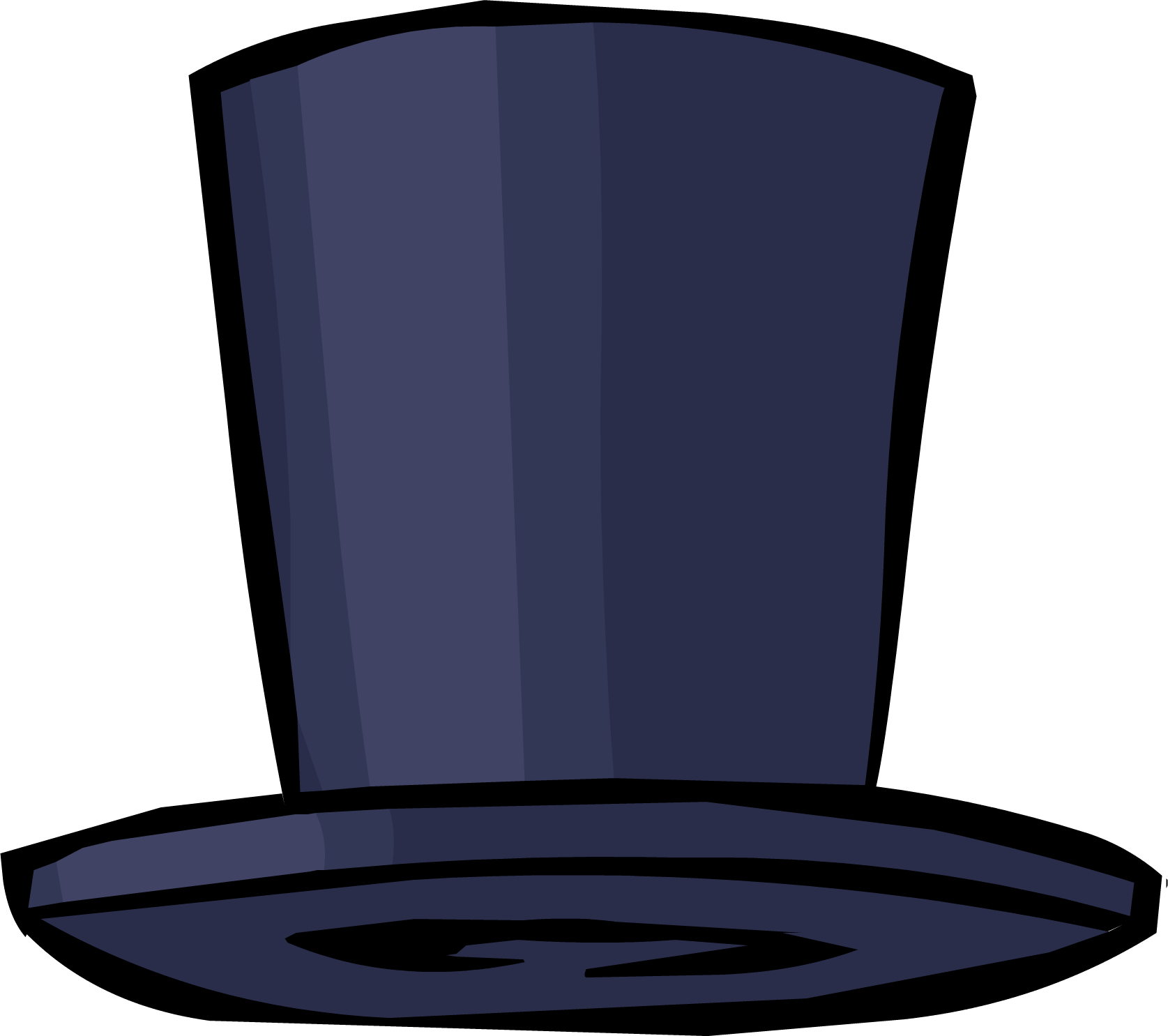 Blue Top Hat (ID 34273)