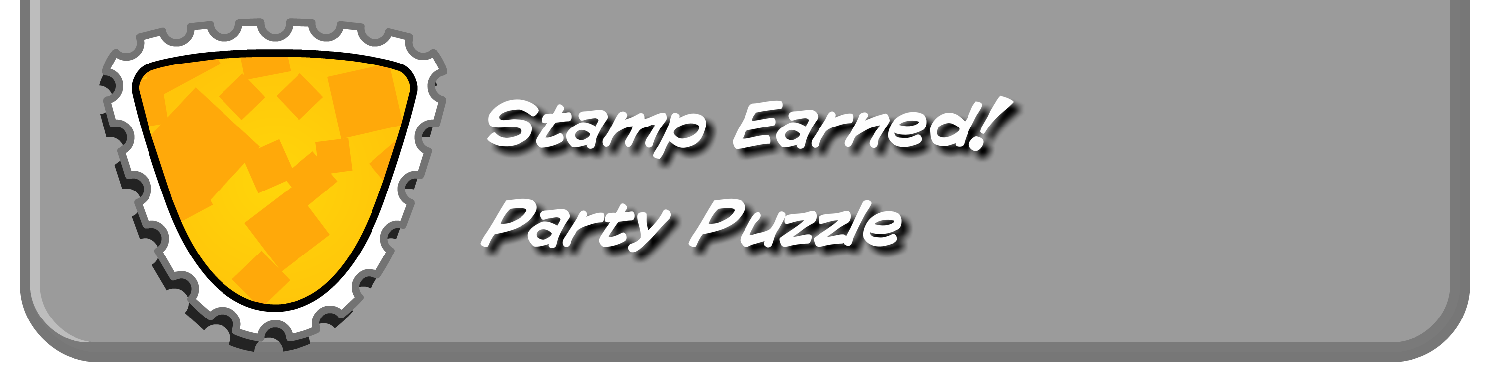Party Puzzle Stamp