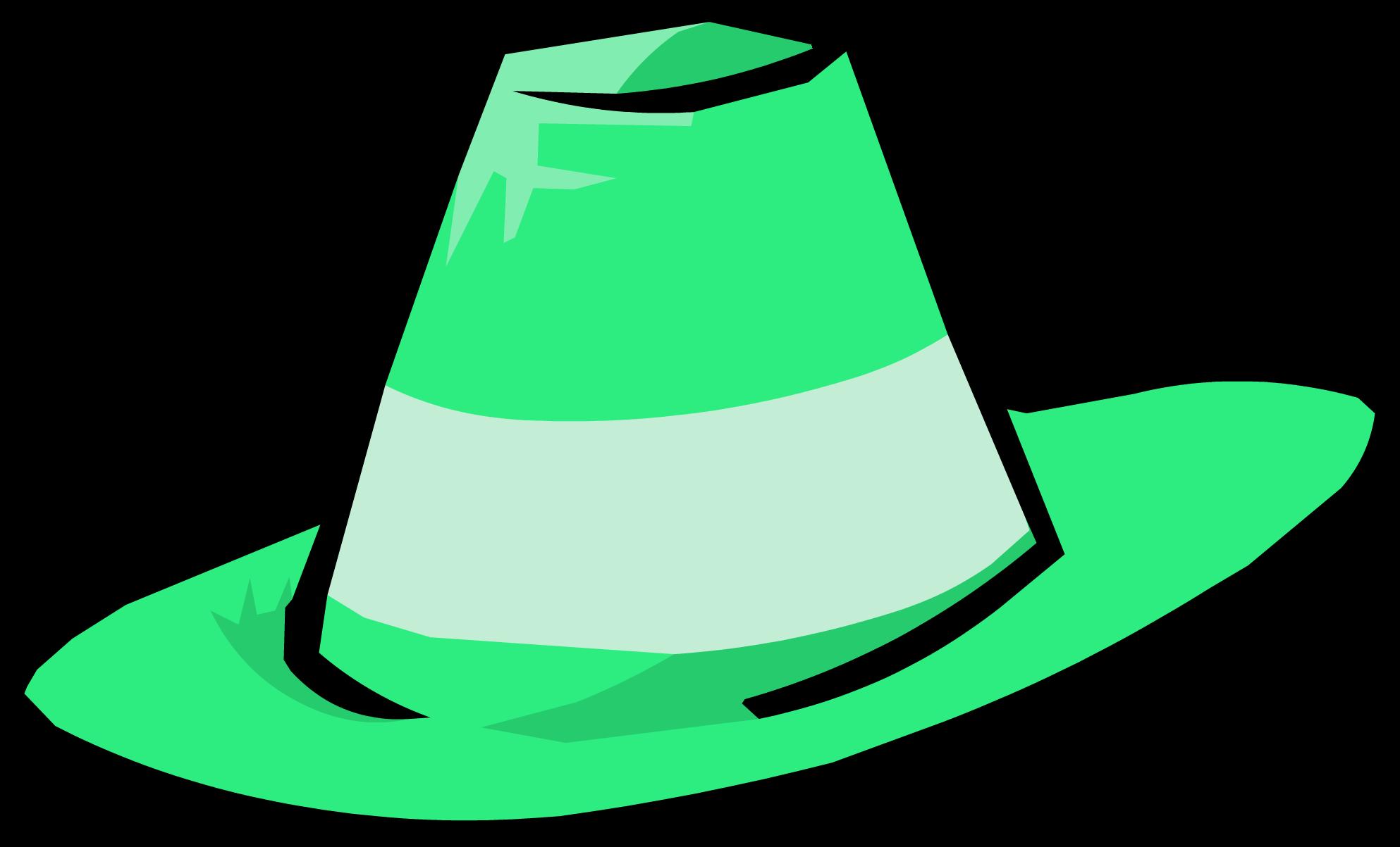 Green Fedora