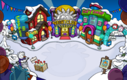 Puffle Party 2020 Town