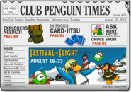 Club Penguin Times Issue 24