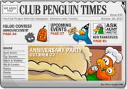 Club Penguin Times Issue 32