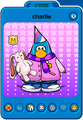 Charlie Player Card - Early February 2020 - Club Penguin Rewritten