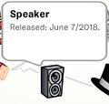 Speaker Pin SB