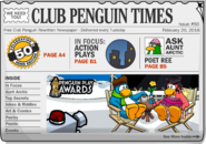 Club Penguin Times Issue 50