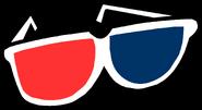 Custom Gaint 3d Glasses