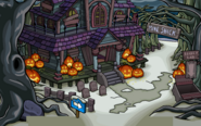 Halloween Candy Hunt 2019 Haunted House Entrance