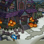 Halloween Candy Hunt 2019 Haunted House Entrance.png