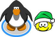 Holiday Party 2020 Yellow Puffle IG