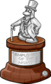 Employee of the Month Trophy full award