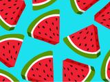 Wacky Watermelon Background